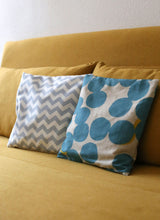 Load the image into the gallery viewer,Stone pine pillow pattern
