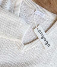 Laden Sie das Bild in den Galerie-Viewer, engage Cashmere Pullover Strukturstrick