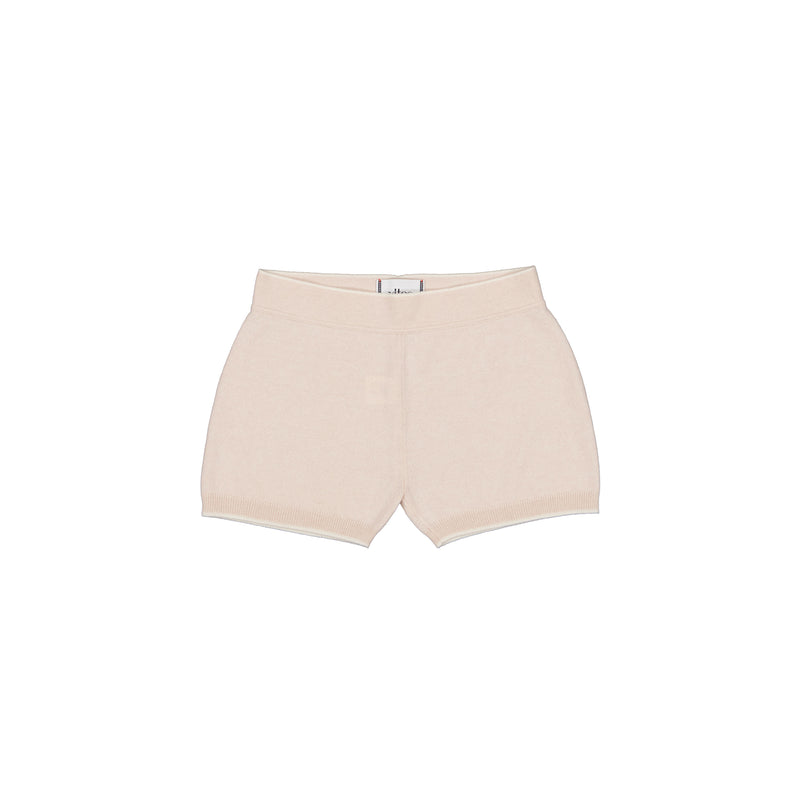 Vitos 1925 VS40 beige color cashmere shorts