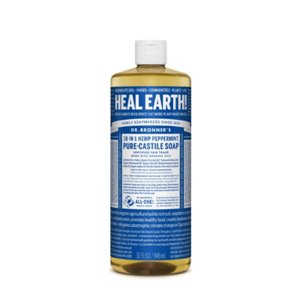 Dr. Bronner's 18-in-1 piparminttu 60ml