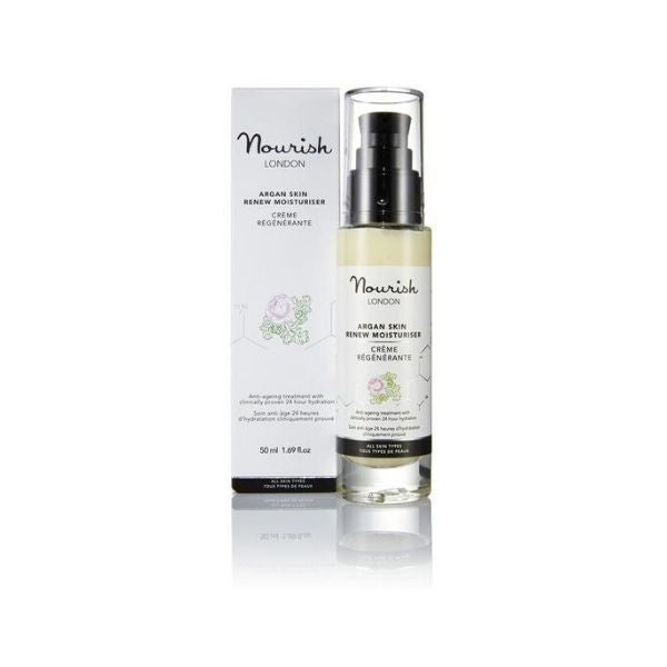 Nourish London Argan Skin Renew kasvovoide