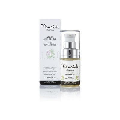 Nourish London Argan Skin Rescue tehotiiviste 15ml
