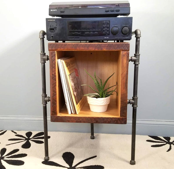 Vinyl cabinet and Turntable stand
