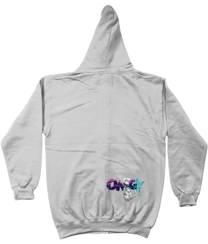PS x OMG Take a trip to Mushroom Land Zip Up Hoody