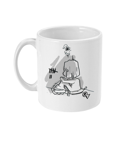 Self Iso Hate Mug - blader-owned clothing and goodness from the twisted hive mind that is postscript.af