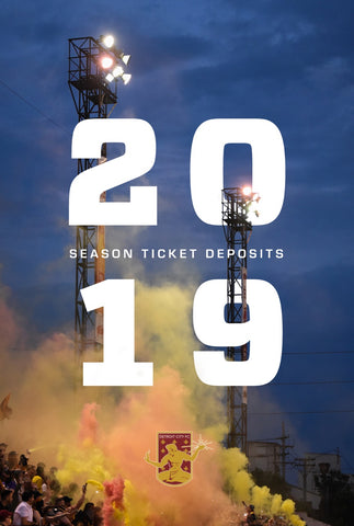 2019 Season Ticket Deposit