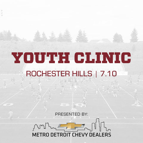 Chevy Youth Clinic - Rochester Hills - 07/10/2017