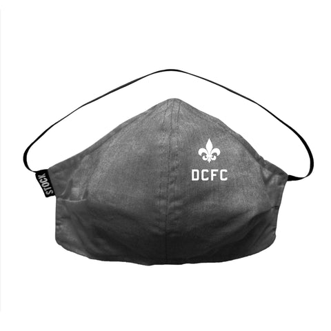 DCFC Mask- Grey Alternate Logo