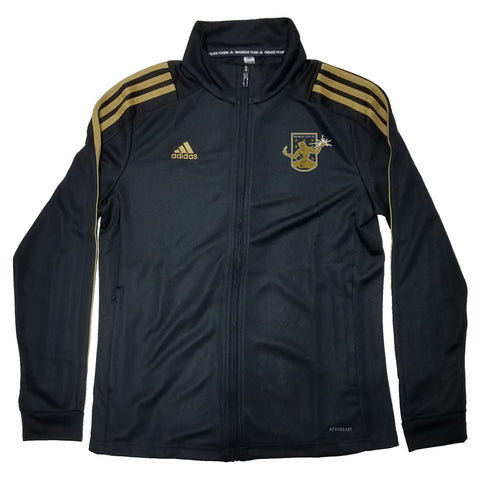 DCFC 2020 Adidas Women's Track Jacket - Black/Gold