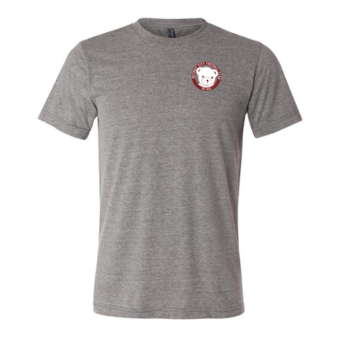 DCFC Friendly the Bear Circle Tee - Grey Triblend