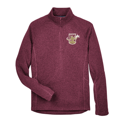 DCFC Fleece 1/4 Zip - Maroon