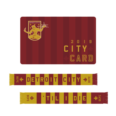 2019 City Card - Season Ticket + Scarf