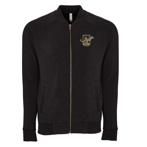 DCFC Crest Bomber Sweater - Black