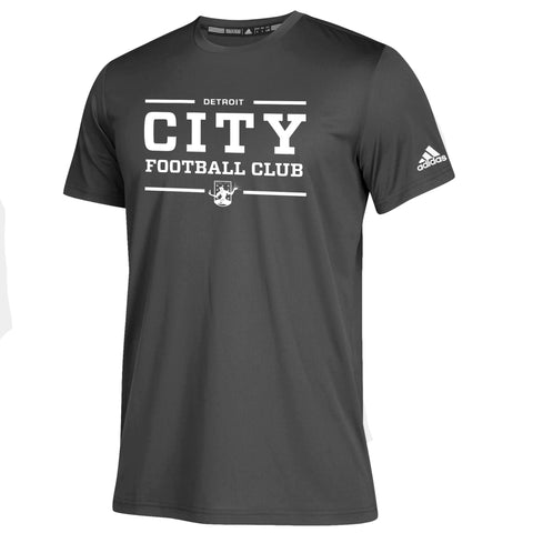 DCFC adidas Clima Tech Tee- City- Grey