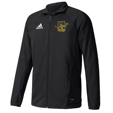 DCFC adidas Men's Track Jacket - Black