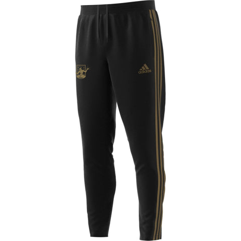 DCFC Tiro 19 Pants- Crest- Black/Gold