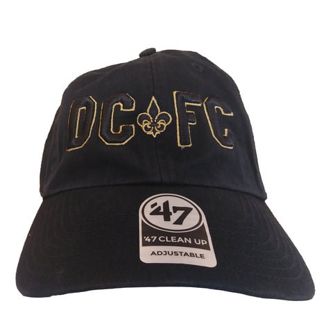 DCFC 47 Brand Adjustable Hat- DCFC Black/Gold