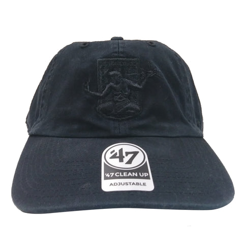 DCFC 47 Brand Adjustable Hat - Crest Black