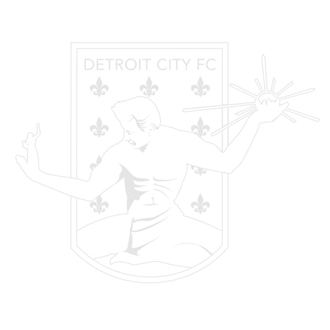 DCFC Decal- Crest- White Outline