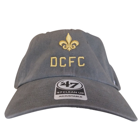 DCFC 47 Brand Adjustable Hat- DCFC Fleur Grey