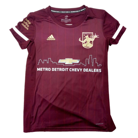DCFC WOMENS SHORT SLEEVE 2020 HOME JERSEYS