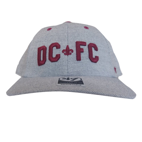 DCFC 47 Brand Adjustable Hat- DCFC Heather Grey