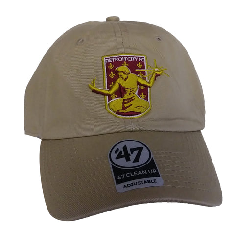 DCFC 47 Brand Adjustable Hat - Crest Khaki