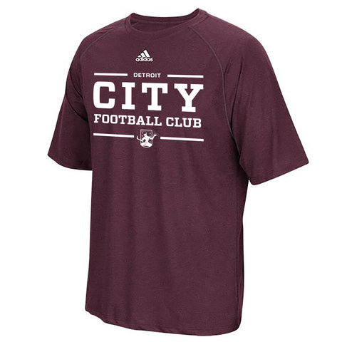 DCFC City Performance Tee- Maroon