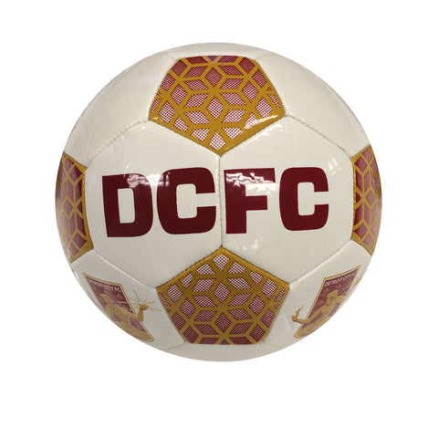 DCFC Custom Honeycomb Soccer Ball - Size 5