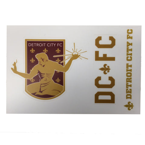DCFC Sticker Sheet- 3 Stickers