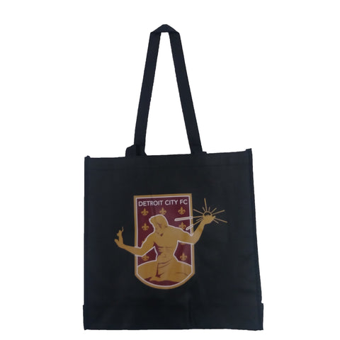 DCFC Tote Bag- Crest Black