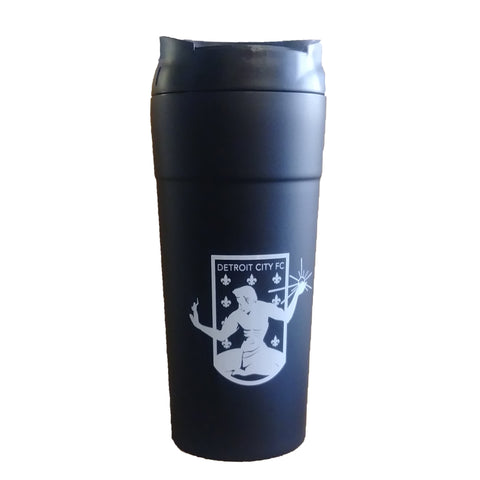 DCFC Crest Travel Mug - Black