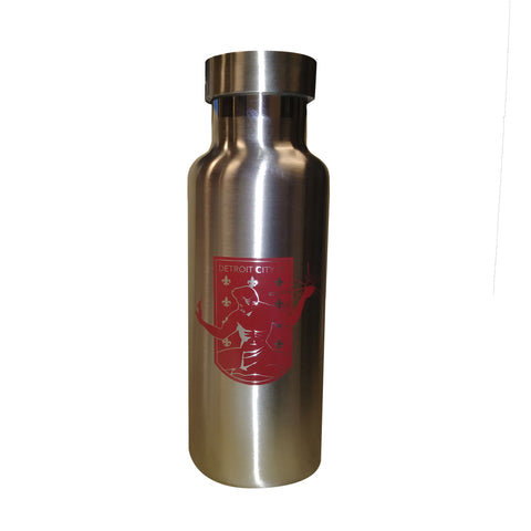 DCFC Stainless Steel Bottle- 17 oz- Crest