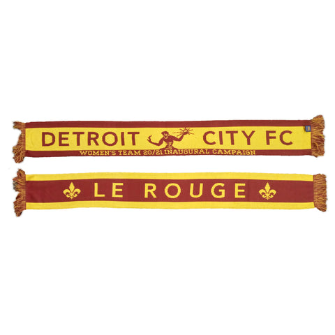 DCFC Women's Team Inaugural Campaign Scarf - Maroon / Gold