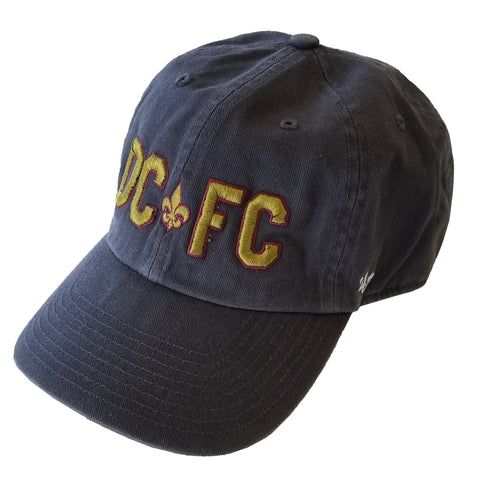 DCFC 47 Brand Adjustable Hat- Grey