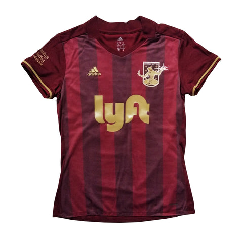 DCFC 2018 Women's Replica Home Jersey- Maroon