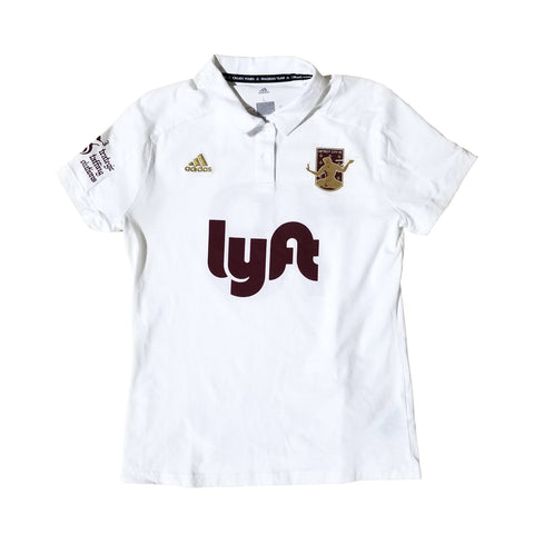 DCFC 2018 Women's Replica Away Jersey- White