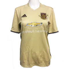 DCFC 2017 Women's Replica Away Jersey - Gold