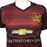DCFC 2017 Women's Replica Home Jersey - Maroon