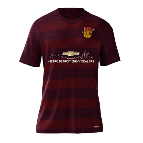 DCFC 2017 Men's Replica Home Jersey - Maroon