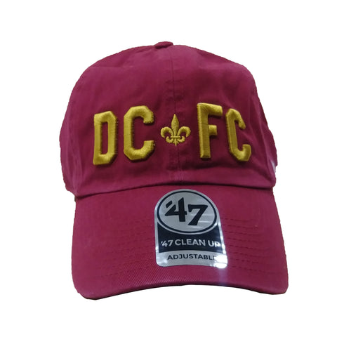 DCFC 47 Brand Adjustable Hat- DCFC Maroon