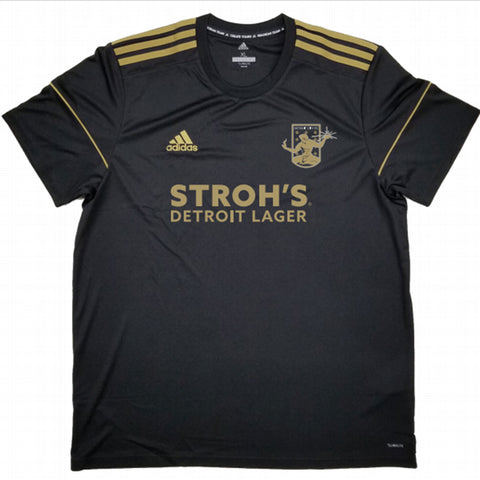 DCFC 2019 Authentic Alternate Jersey- Men's- Black
