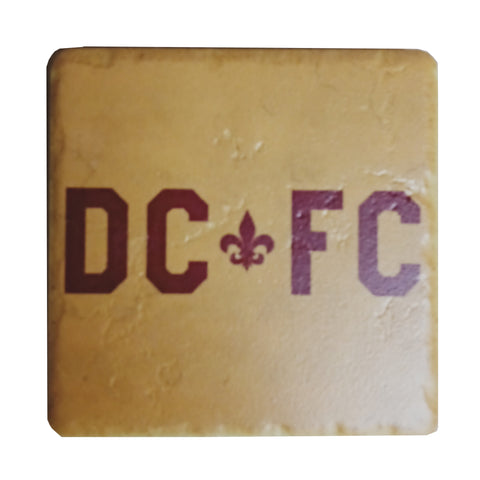 DCFC Ceramic Coaster - DCFC Gold