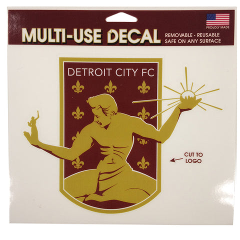 DCFC Multi-Use Decal- Crest
