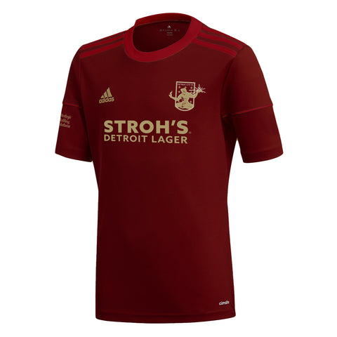 DCFC 2019 Authentic Home Jersey- Men's - Maroon