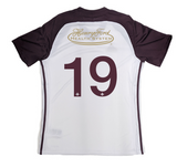DCFC 2019 Authentic Away Short Sleeve Jersey- Men's- White/Maroon