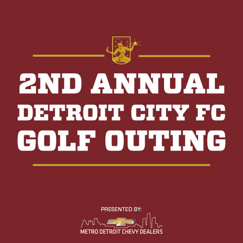2nd Annual Detroit City FC Golf Outing