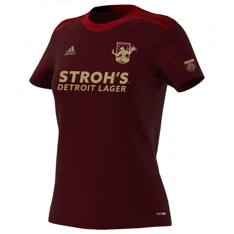 DCFC 2019 Authentic Home Jersey- Women's- Maroon