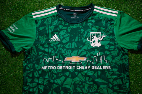 DCFC 2021 Authentic Goalie Jersey - Womens - Green