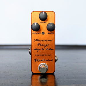 One Control Flourescent Orange Amp In A Box - B-Stock - NathansGear.Co